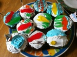 Birthday Cupcakes specially decorated by the Big Sisters