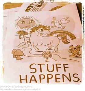 stuff happens